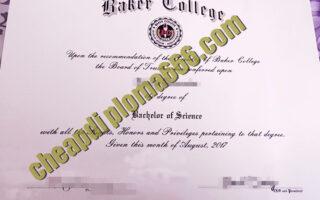 Baker College degree