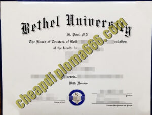 buy Bethel University diploma