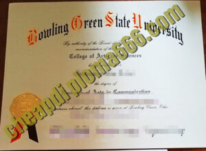 buy Bowling-Green-State-University degree certificate
