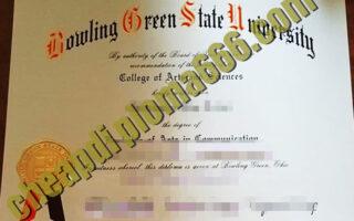 buy Bowling-Green-State-University degree certificate