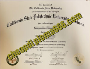 California State Polytechnic University, Pomona degree