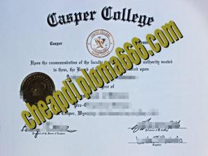 buy Casper College degree