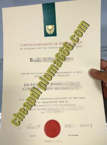 Curtin University fake degree