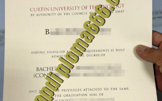 Curtin University fake degree