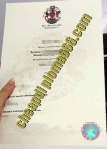 De Montfort University diploma