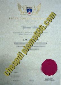 buy Edith Cowan University degree certificate