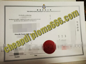 buy Hong Kong University of Science and Technology degree certificate