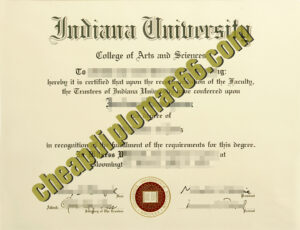 fake Indiana University Bloomington degree