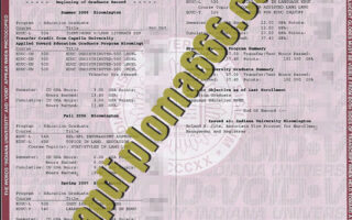 Indiana University Bloomington fake transcript