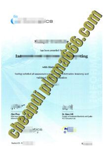 Informatics Academy certificate