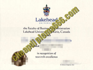 buy Lakehead University degree
