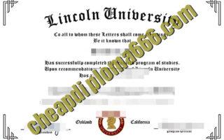 Lincoln University fake degree