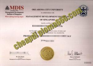Management Development Institute of Singapore fake degree certificate