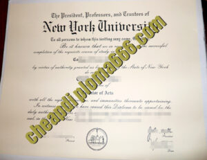 buy New York University degree certificate