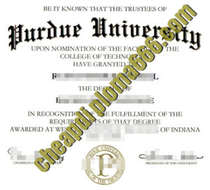 Purdue University fake degree