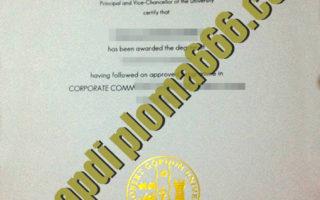 buy Robert Gordon University degree