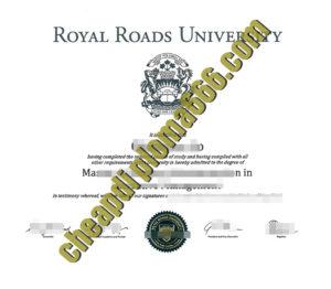 buy Royal Road University degree