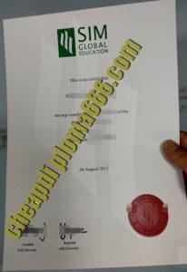 fake SIM degree