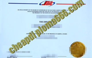 buy Southern Alberta Institute of Technology degree certificate