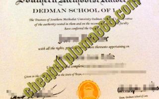 buy Southern Methodist University degree