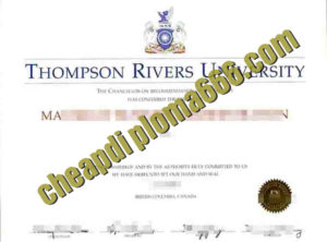 Thompson Rivers University degree