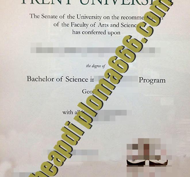 buy Trent University degree
