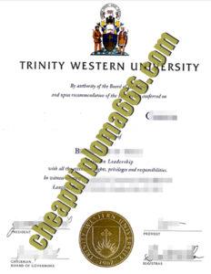 Trinity Western University degree