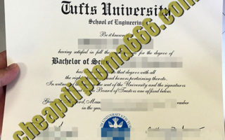 Tufts University diploma