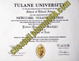 fake Tulane University degree