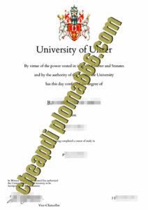 buy Ulster University degree certificate