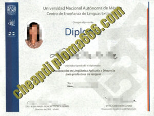 fake Universidad Nacional Autónoma de México degree certificate