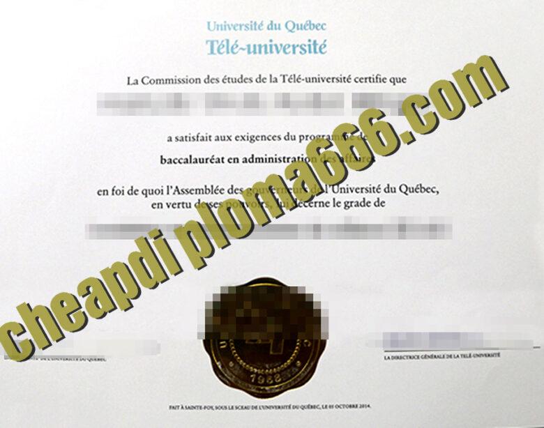 buy Université du Québec à Chicoutimi degree certificate