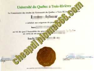 fake UQTR degree certificate