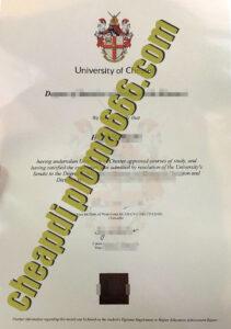 University of Chester fake degree certificate