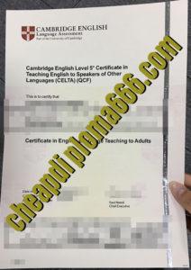 buy CELTA certificate