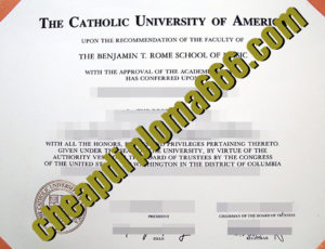 buy Catholic University of America degree