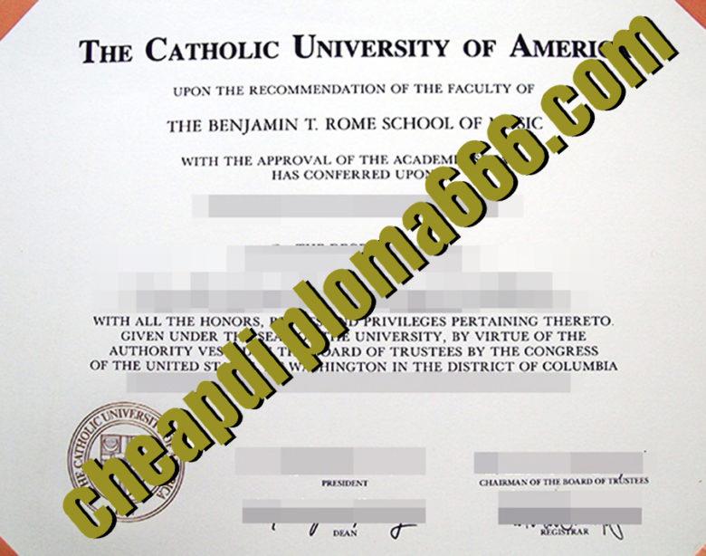 buy Catholic University of America degree