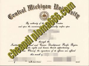 buy Central Michigan University degree