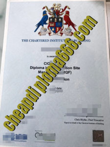 buy CIOB certificate