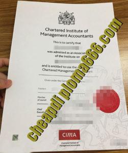 buy CIMA certifiicate