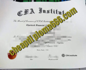 buy CFA certificate