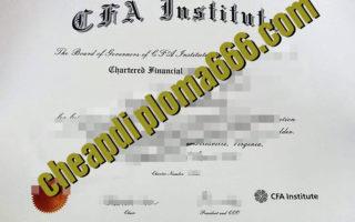 buy CFA certificate