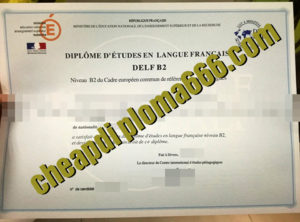 fake DELF degree certificate