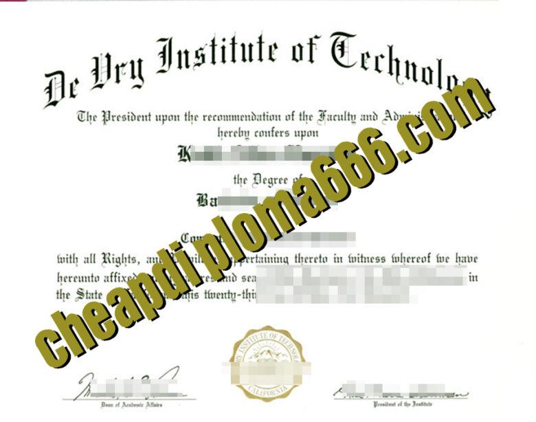 buy DIT degree