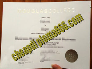 buy Douglas College degree certificate