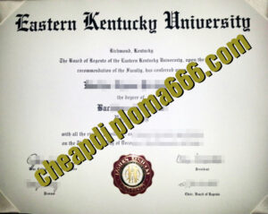 buy EKU degree certificate