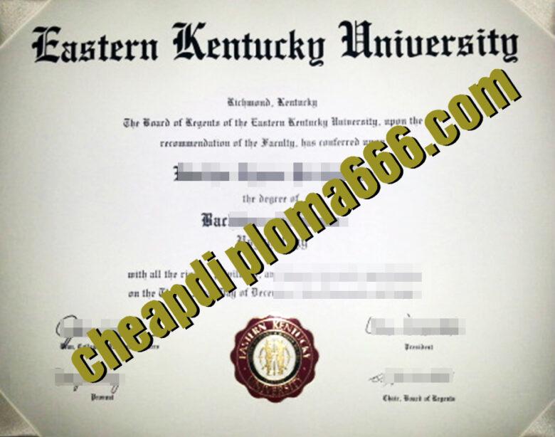 buy EKU degree certificate