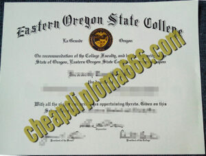 Eastern Oregon state College degree