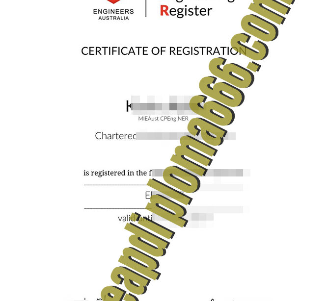 fake Engineers Australia degree certificate
