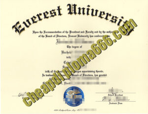 buy Everest University degree certificate